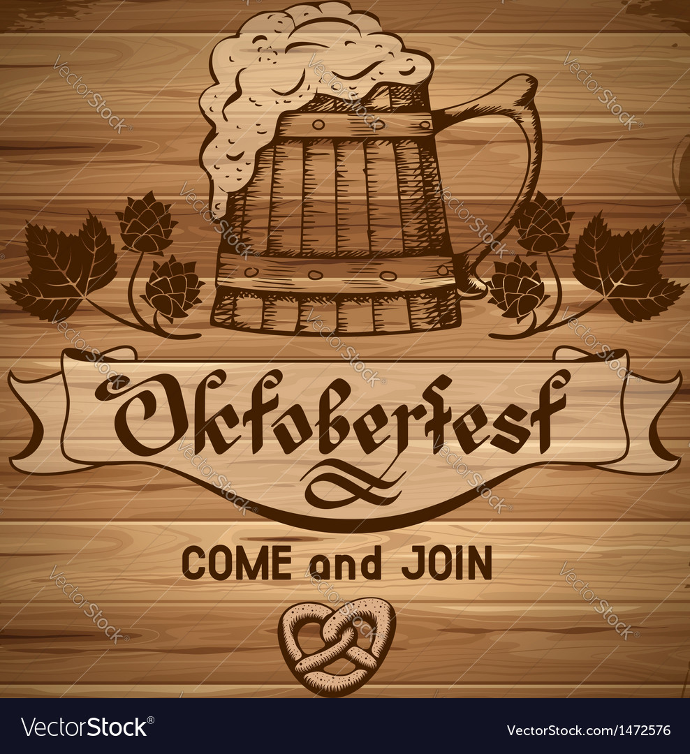 Octoberfest vector | Price: 3 Credit (USD $3)