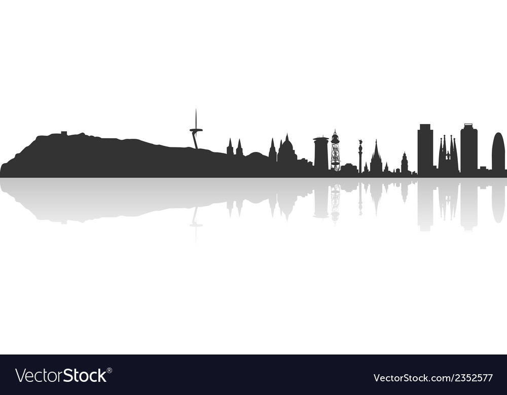 Barcelona profile vector | Price: 1 Credit (USD $1)