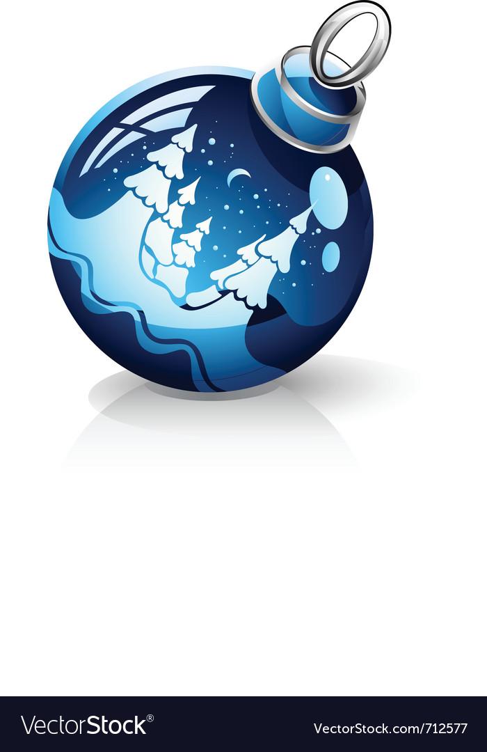 Christmas ball vector | Price: 3 Credit (USD $3)