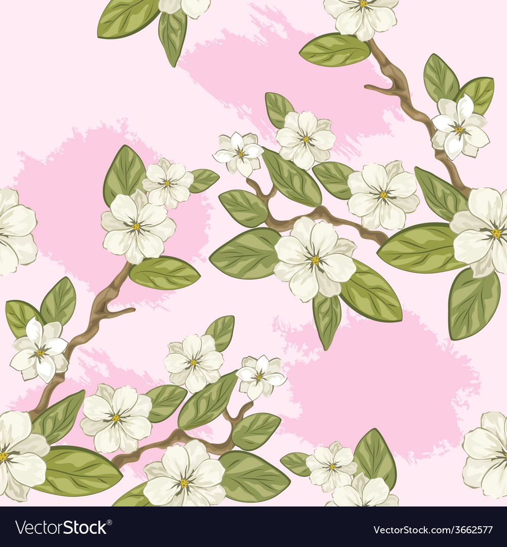 Pink flower vector | Price: 1 Credit (USD $1)