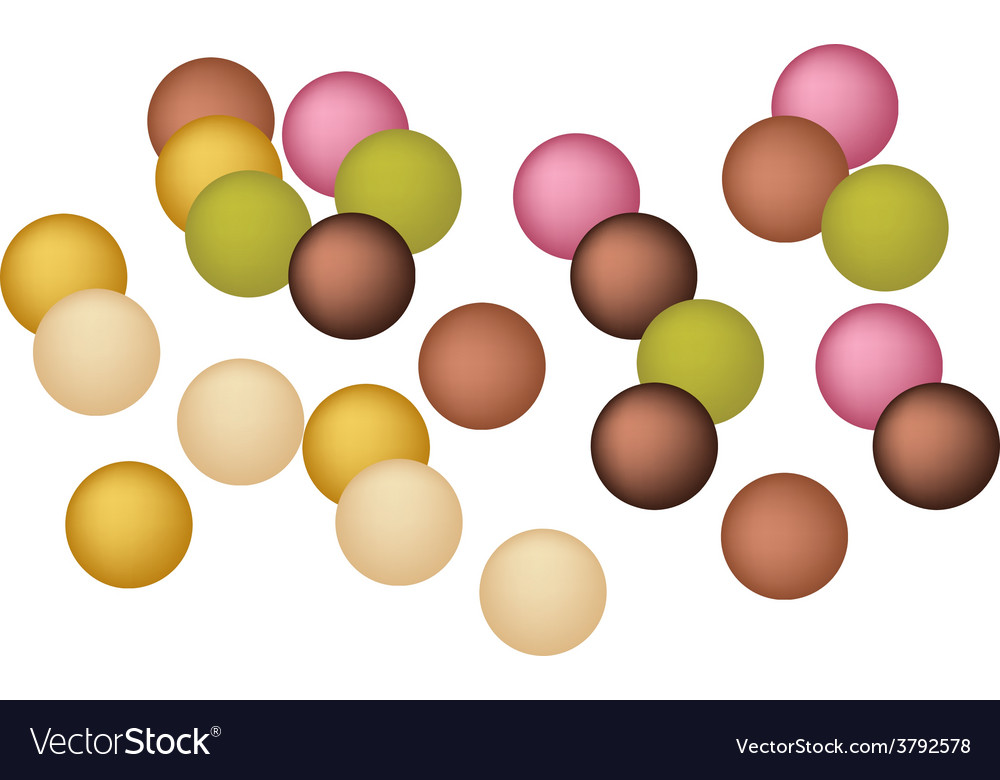 Anko dama or japanese jelly ball vector | Price: 1 Credit (USD $1)