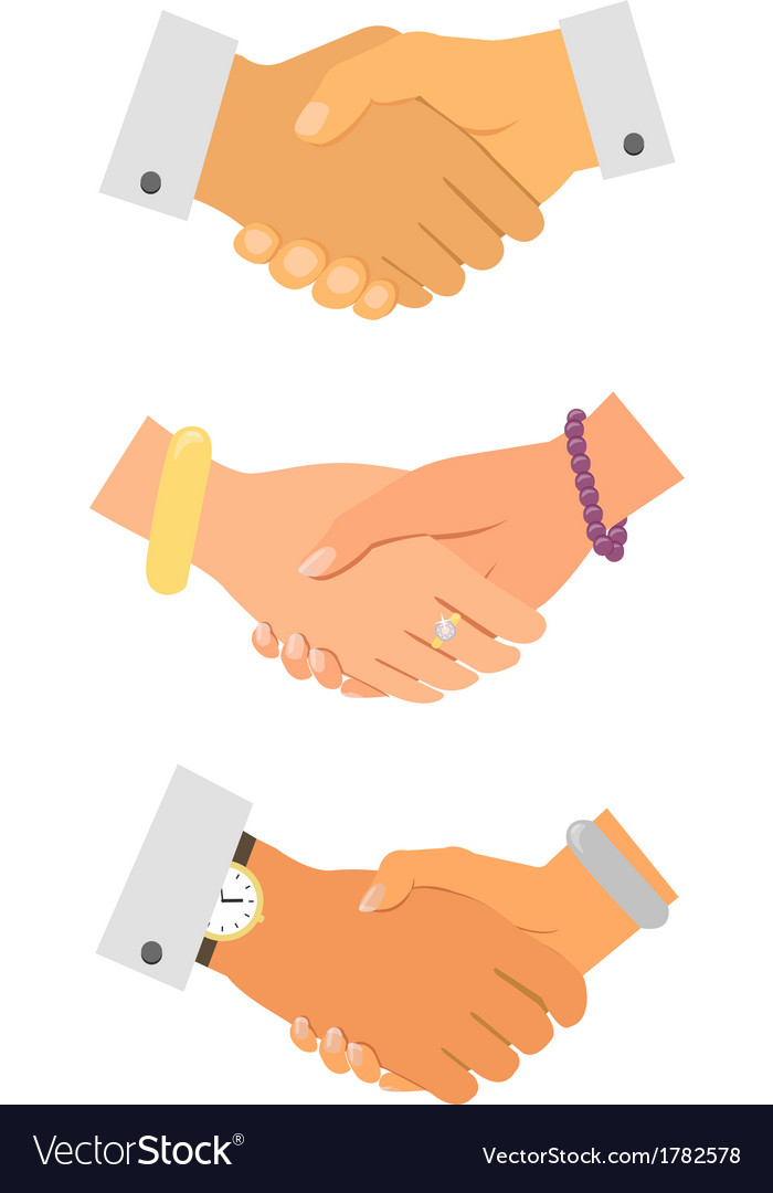 Business handshake iconset vector | Price: 1 Credit (USD $1)