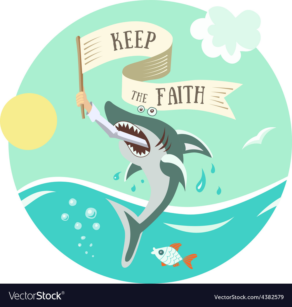 Keep faith vector | Price: 1 Credit (USD $1)