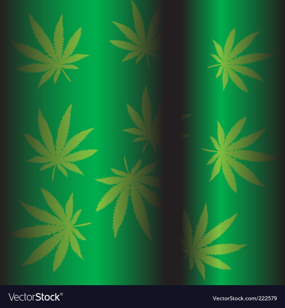 Marijuana background vector | Price: 1 Credit (USD $1)