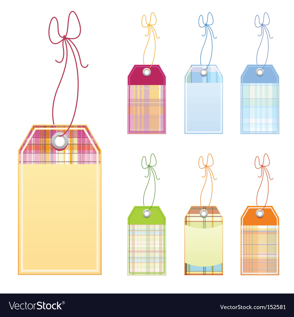 Checked labels vector | Price: 1 Credit (USD $1)