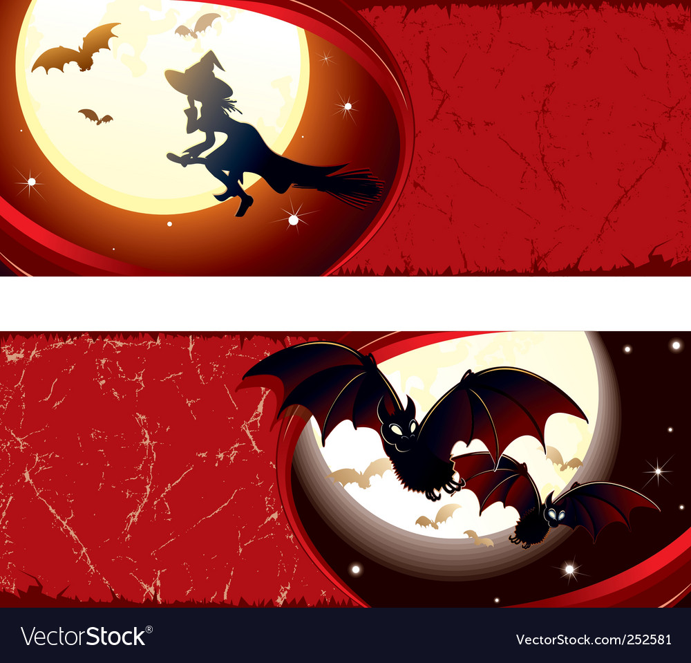 Witch background vector | Price: 3 Credit (USD $3)
