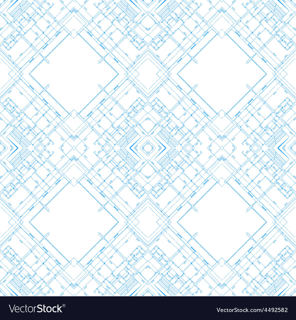 Abstract architecture background vector | Price: 1 Credit (USD $1)