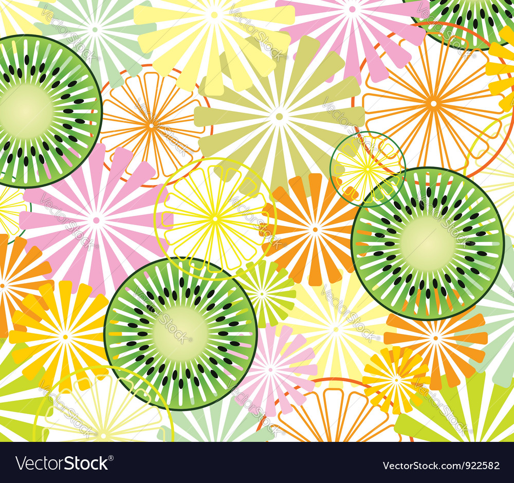 Abstract fruit background vector | Price: 3 Credit (USD $3)