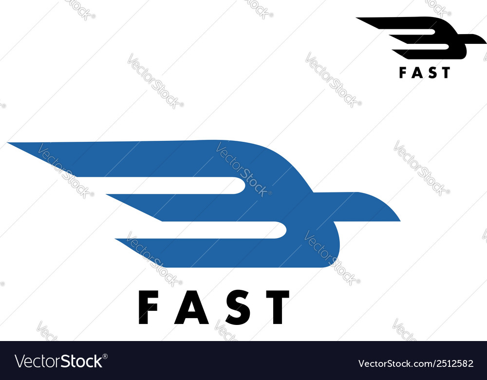 Fast delivery or ail mail icon vector | Price: 1 Credit (USD $1)