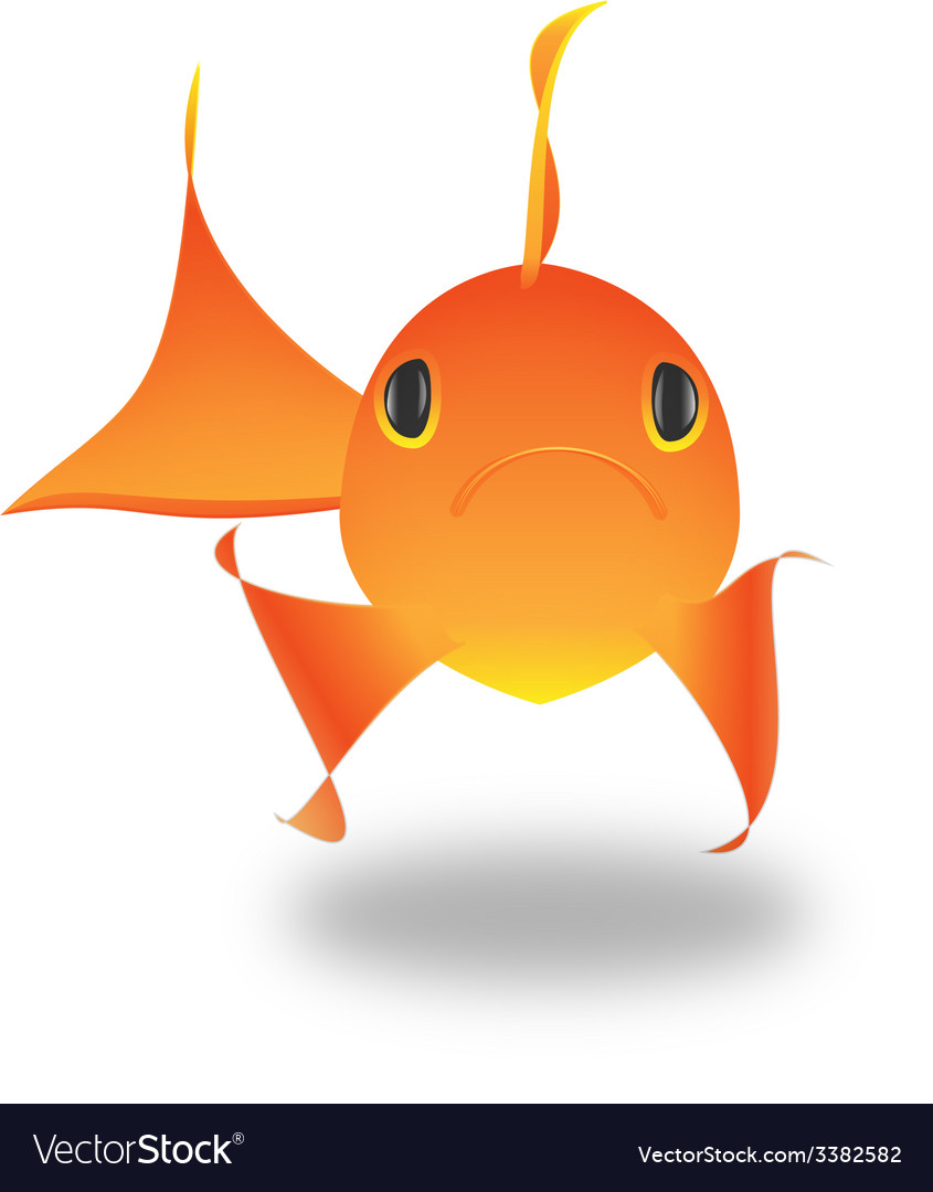 Goldfish koi fish vector | Price: 1 Credit (USD $1)