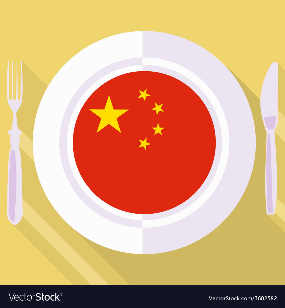 Kitchen of china vector | Price: 1 Credit (USD $1)