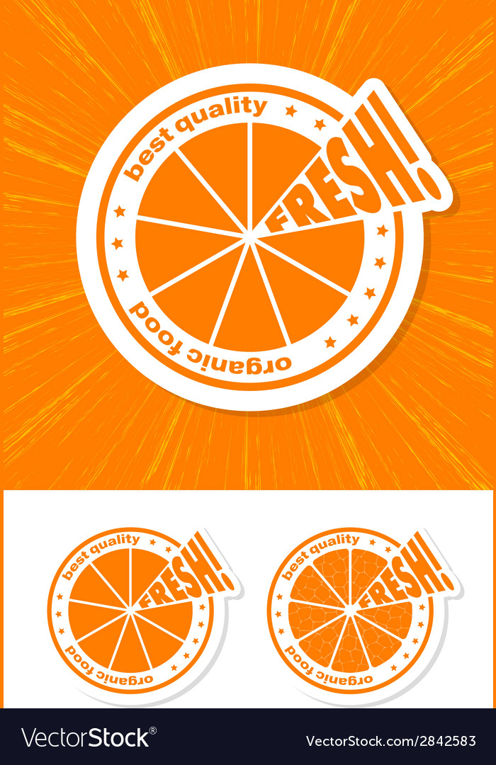 Orange label vector   Price: 1 Credit (USD $1)