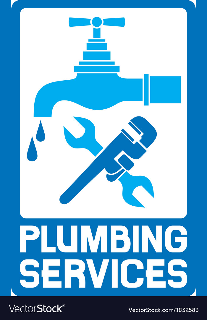Repair plumbing symbol vector | Price: 1 Credit (USD $1)