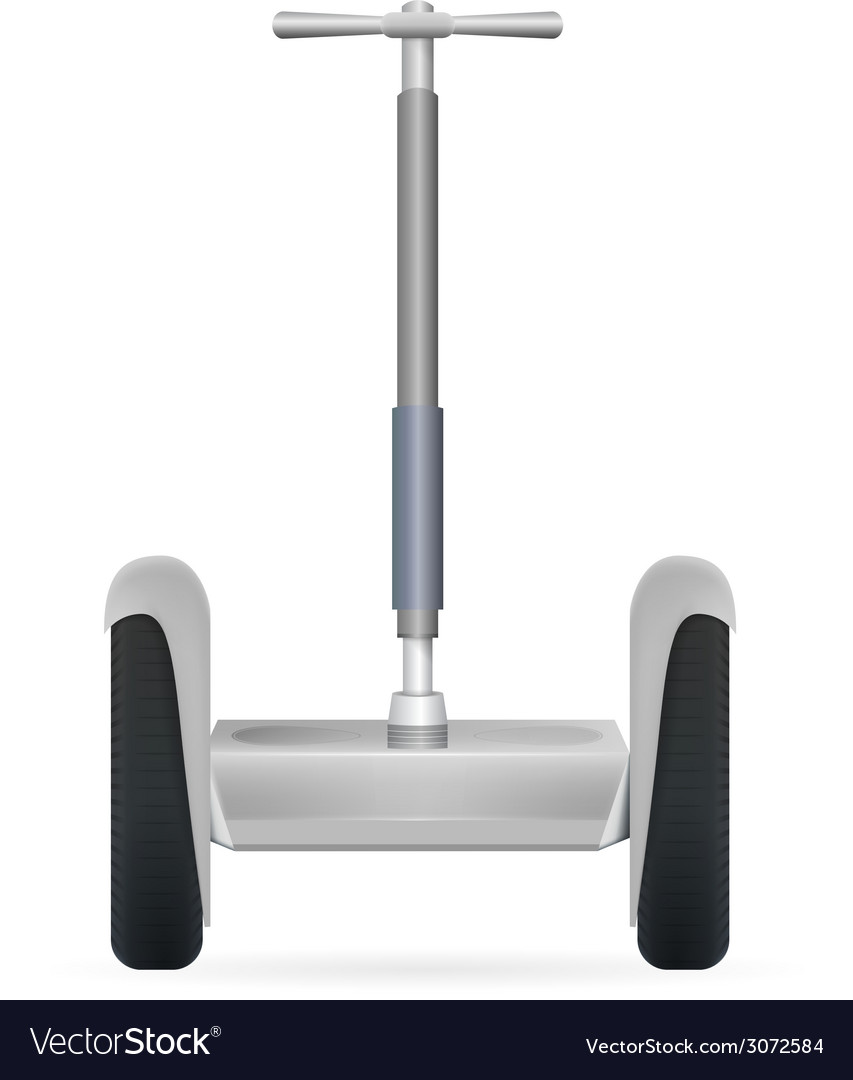 Gray segway vector | Price: 1 Credit (USD $1)