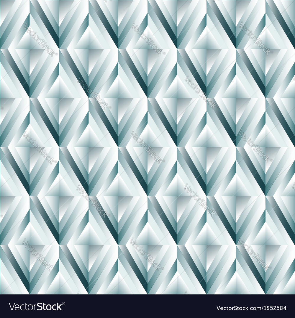 Seamless pattern made of rhombus cut diamonds vector | Price: 1 Credit (USD $1)
