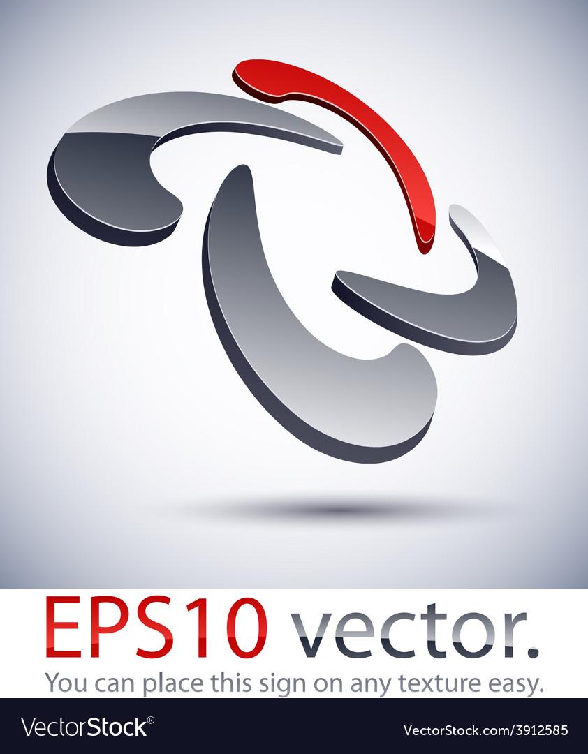 3d modern scroll logo icon vector   Price: 1 Credit (USD $1)