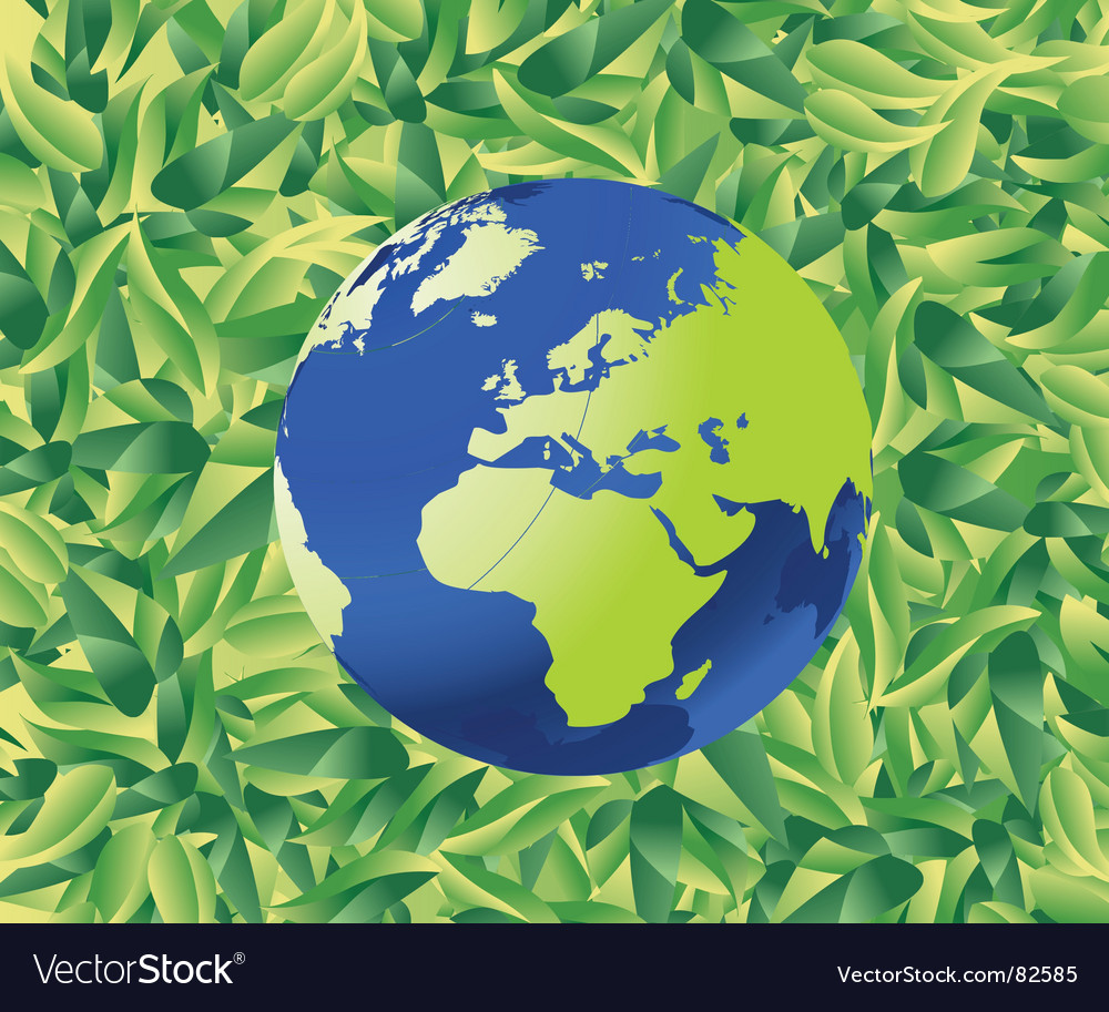 Nature world vector | Price: 1 Credit (USD $1)