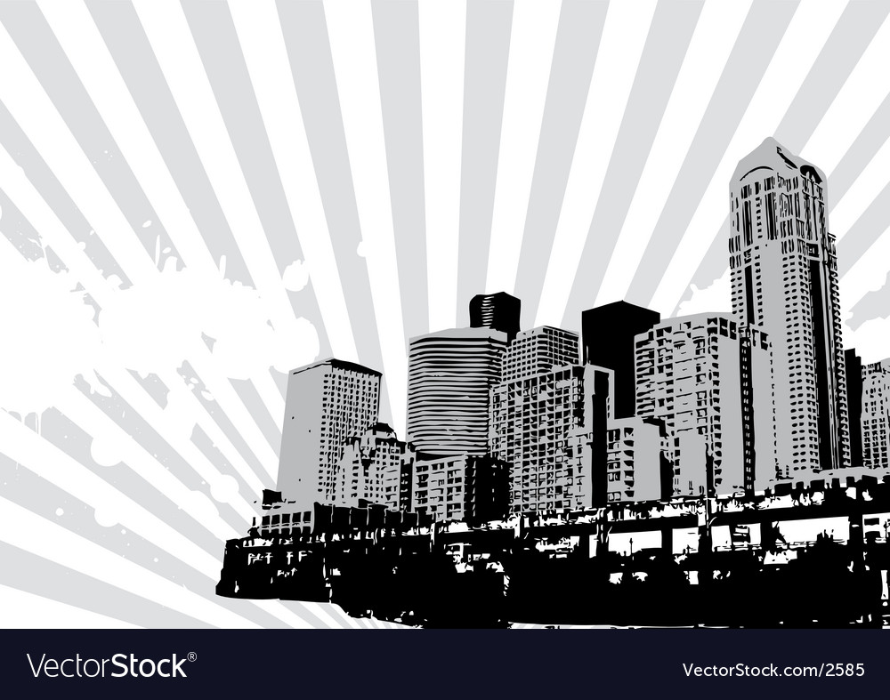 Seattle vector | Price: 1 Credit (USD $1)
