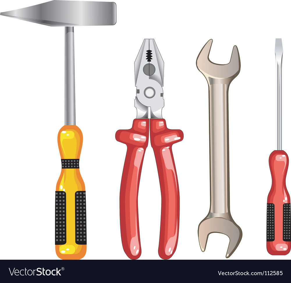 Tool for repair vector | Price: 1 Credit (USD $1)