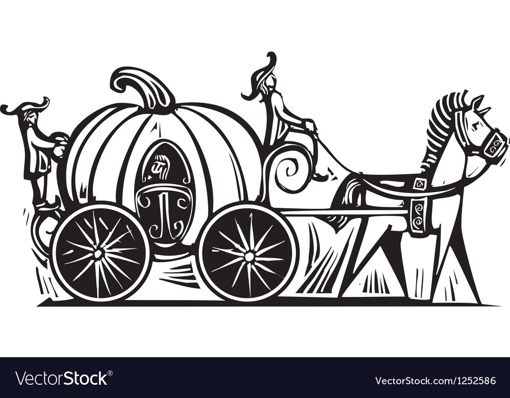 Cinderellas carriage vector | Price: 1 Credit (USD $1)