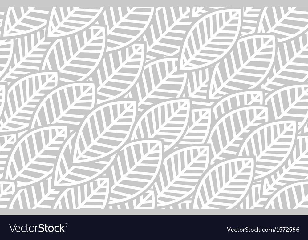 Leaves background pattern - vector | Price: 1 Credit (USD $1)