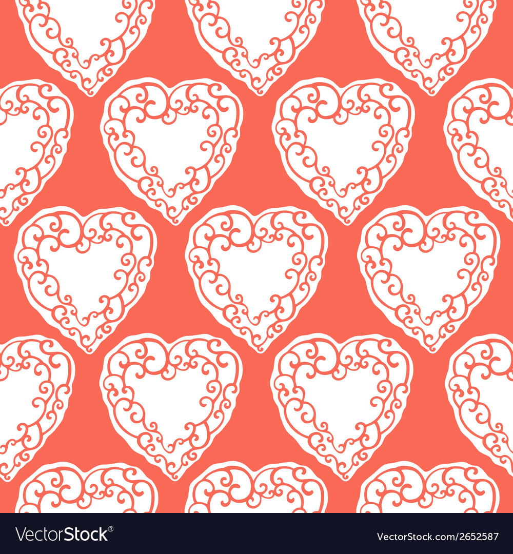 Seamless pattern with decorative doodle ornamental vector | Price: 1 Credit (USD $1)