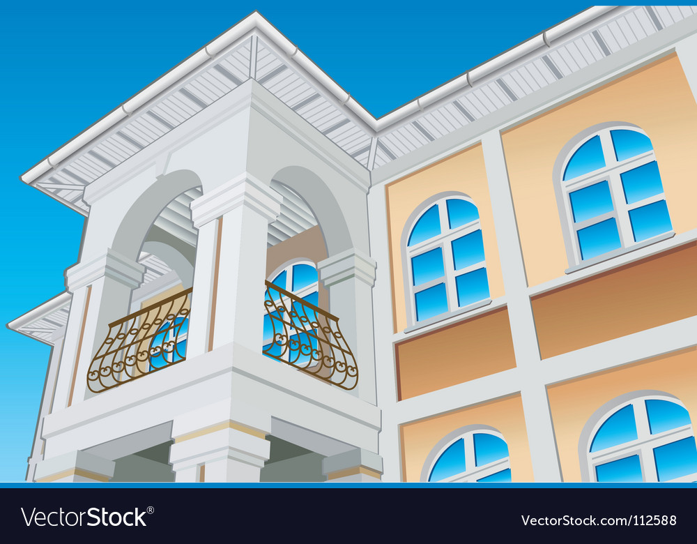 Balcony vector | Price: 1 Credit (USD $1)