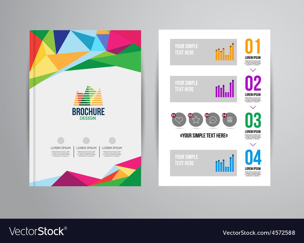 Design brochure template vector   Price: 1 Credit (USD $1)