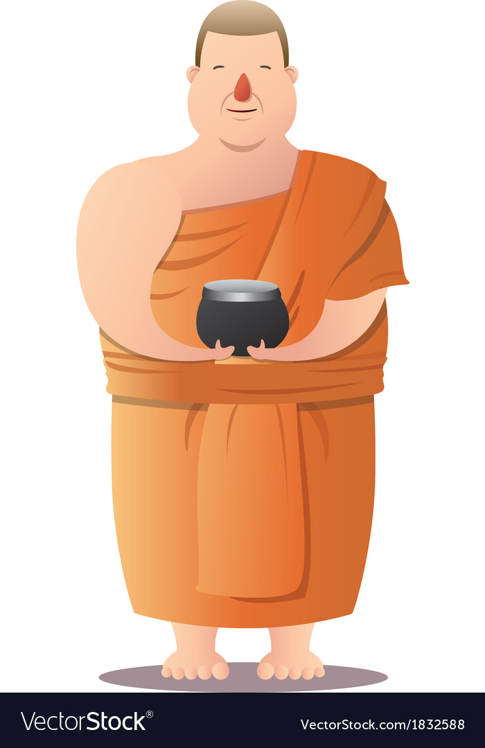 Monk vector | Price: 1 Credit (USD $1)