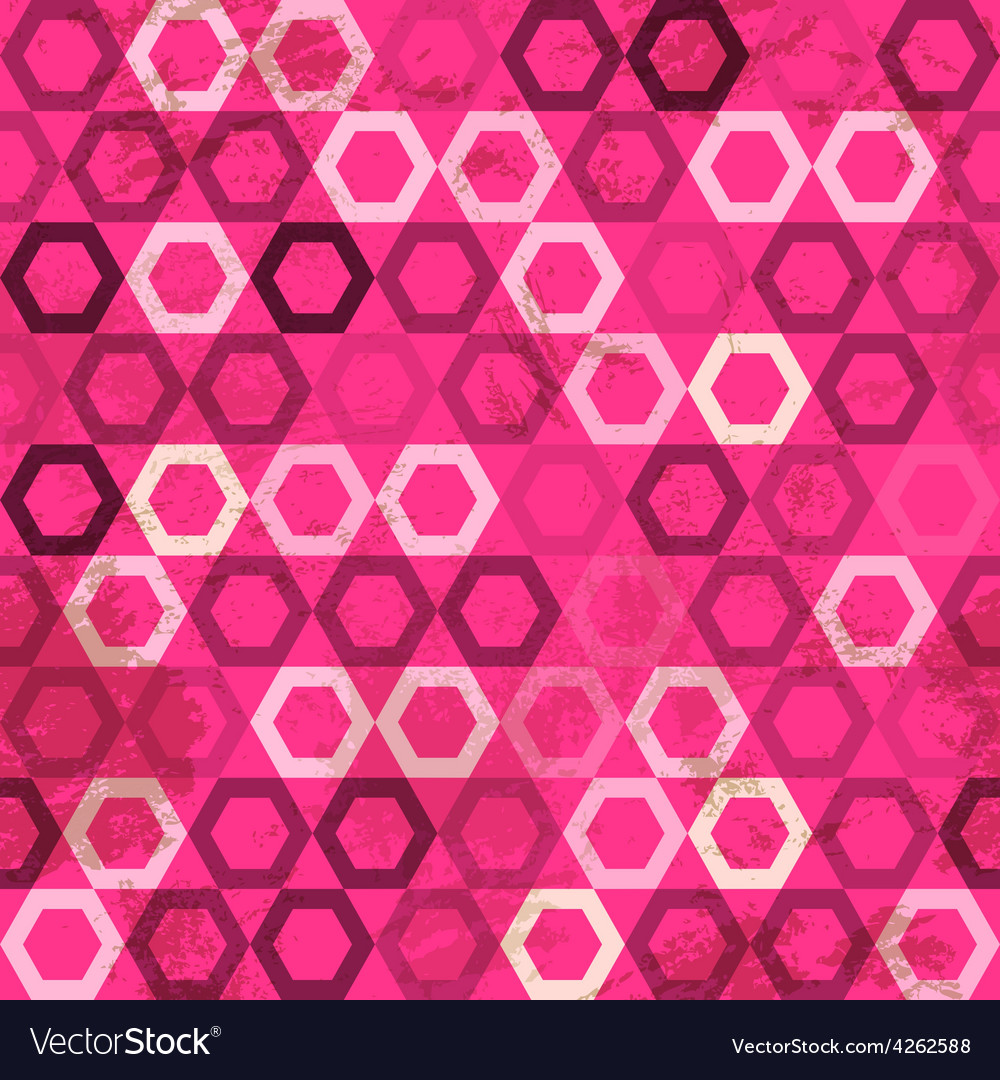 Pink cell grunge seamless vector | Price: 1 Credit (USD $1)