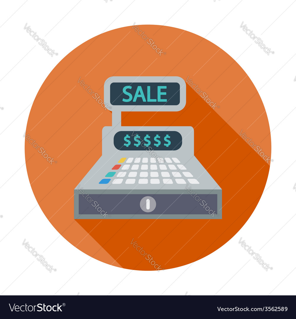 Cash register vector | Price: 1 Credit (USD $1)