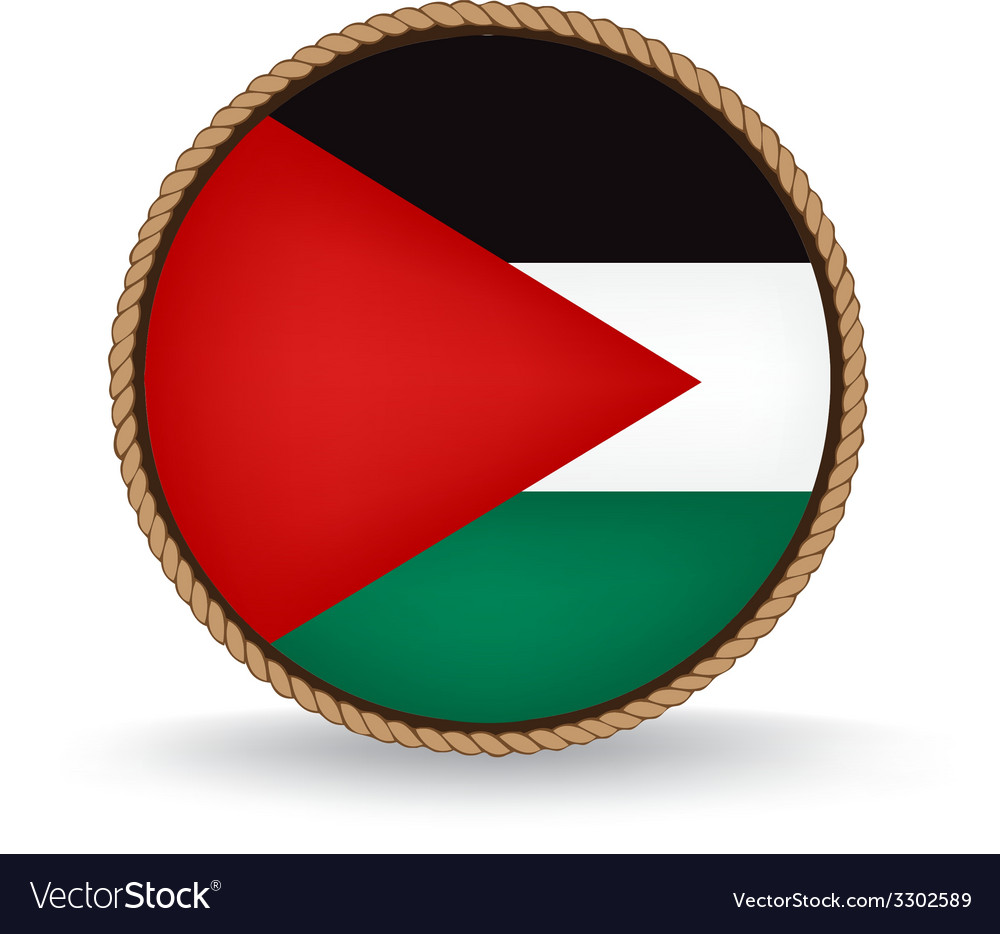 Palestine seal vector | Price: 1 Credit (USD $1)