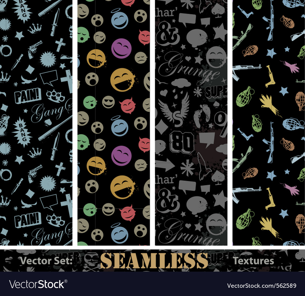 Urban textures vector | Price: 1 Credit (USD $1)
