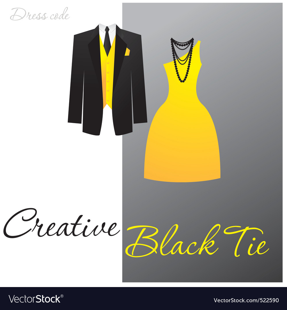 Creative black tie vector | Price: 1 Credit (USD $1)