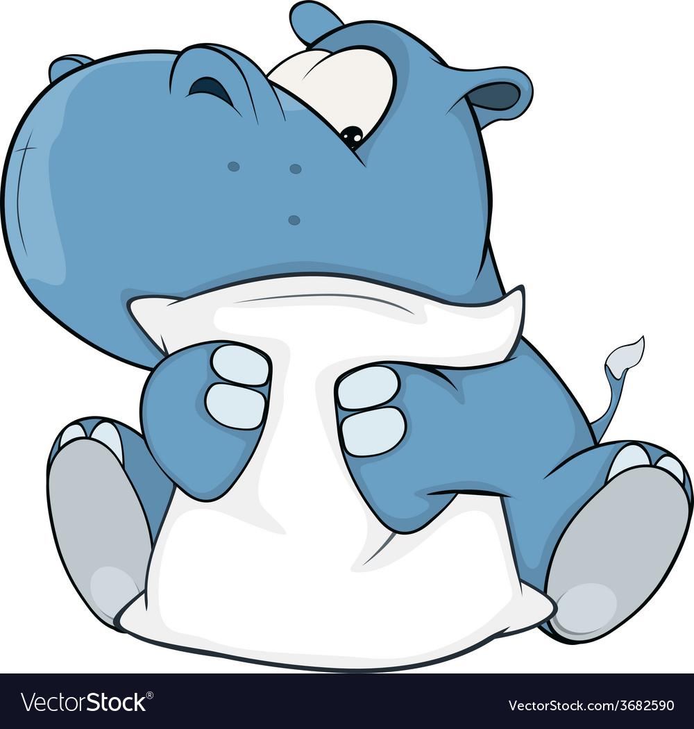 Hippopotamus vector | Price: 1 Credit (USD $1)