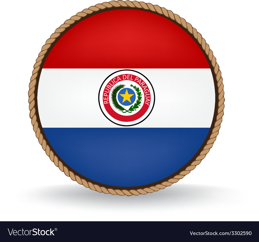 Paraguay seal vector   Price: 1 Credit (USD $1)