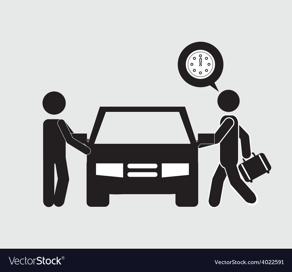 Car driver vector | Price: 1 Credit (USD $1)