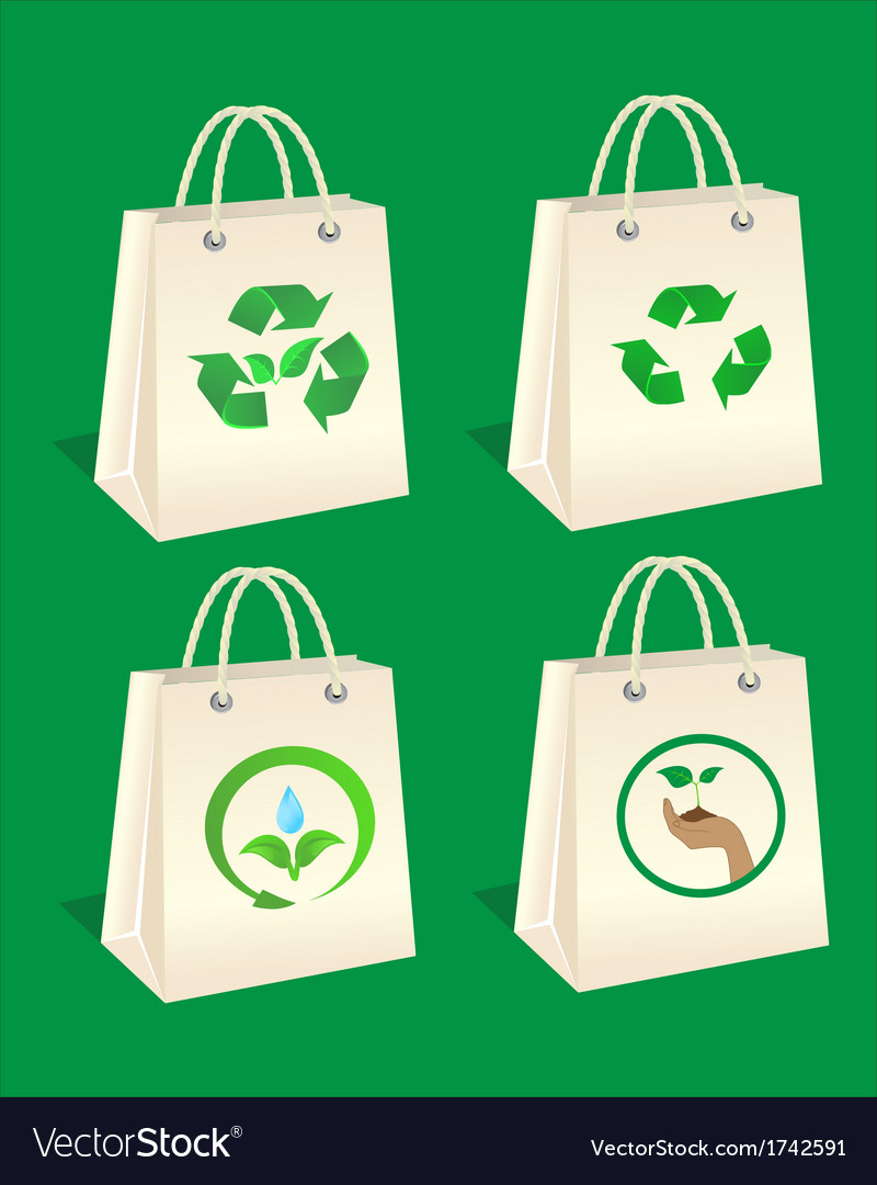 Ecology package vector | Price: 1 Credit (USD $1)