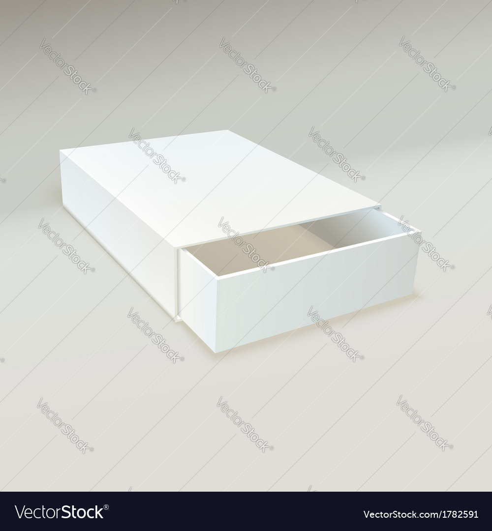 Empty open box of matches vector | Price: 1 Credit (USD $1)