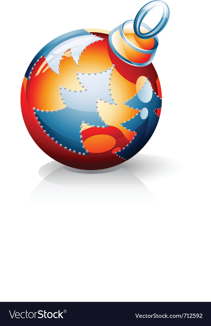 Christmas ball vector | Price: 3 Credit (USD $3)