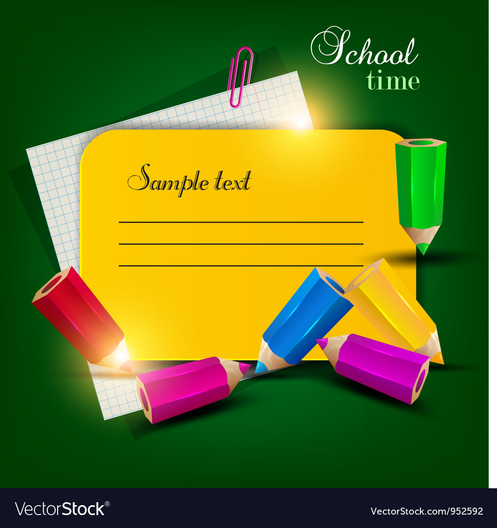 Colorful note tag vector | Price: 1 Credit (USD $1)