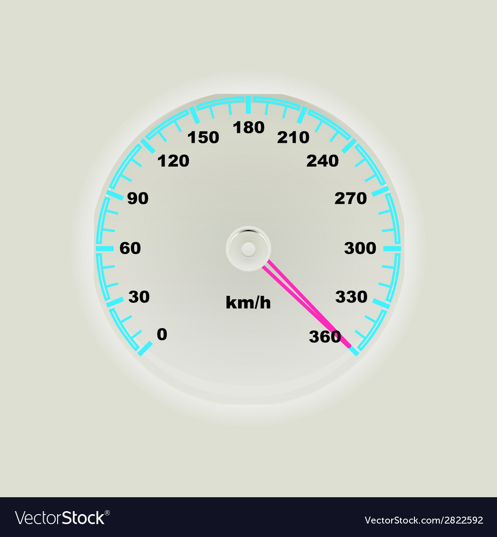Speedometer design vector | Price: 1 Credit (USD $1)