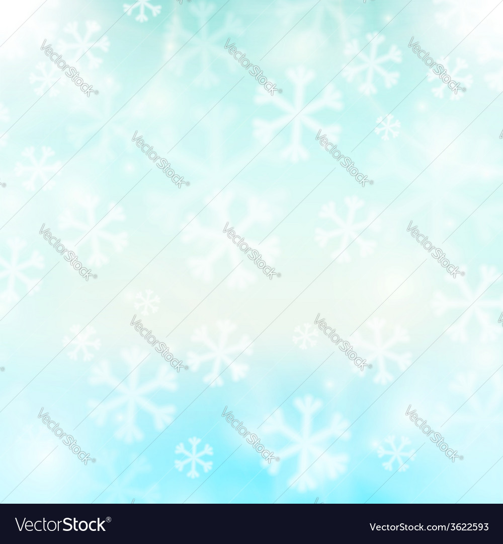 Abstract winter background vector | Price: 1 Credit (USD $1)