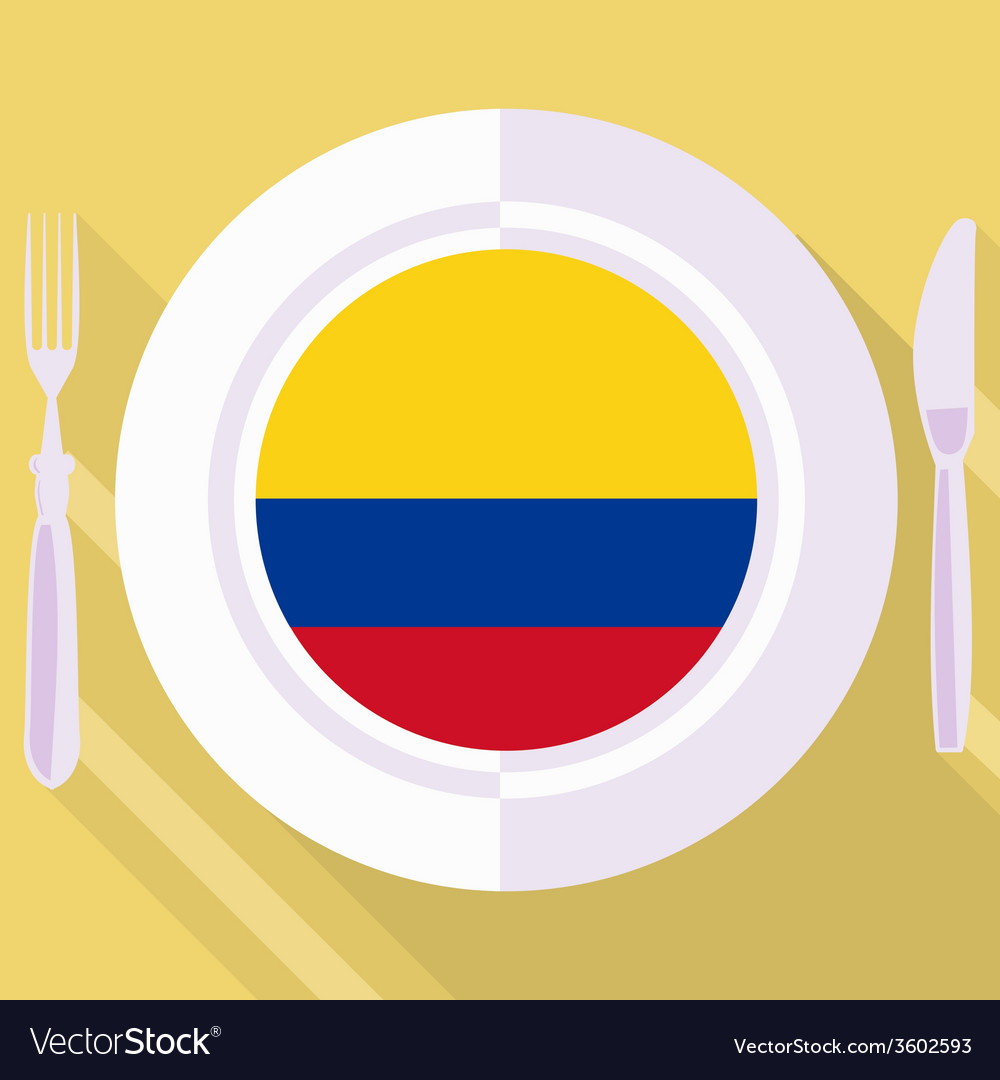 Kitchen of colombia vector | Price: 1 Credit (USD $1)
