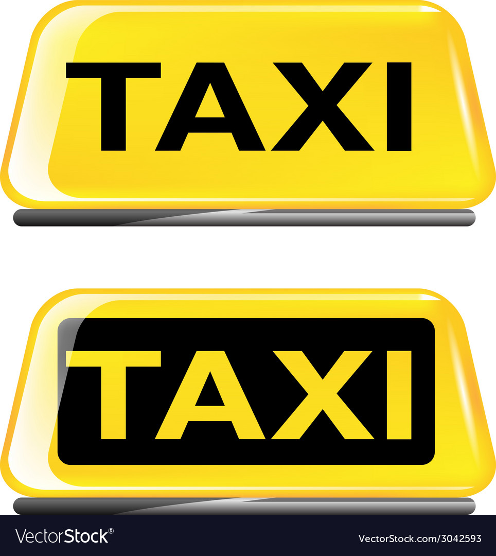 Taxi vector | Price: 1 Credit (USD $1)