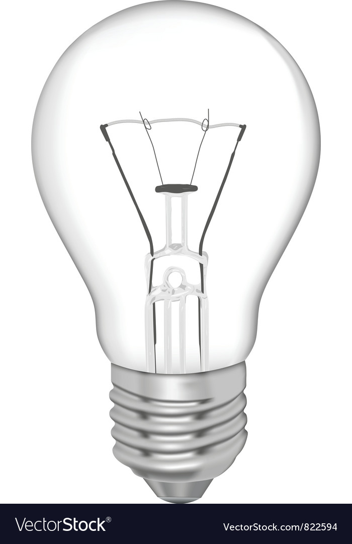 Bulb for daily use vector | Price: 1 Credit (USD $1)