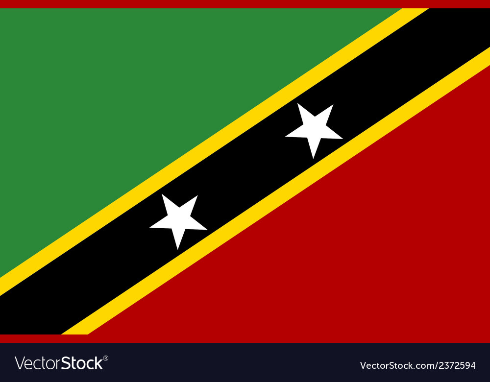 Saint kitts and nevis vector   Price: 1 Credit (USD $1)