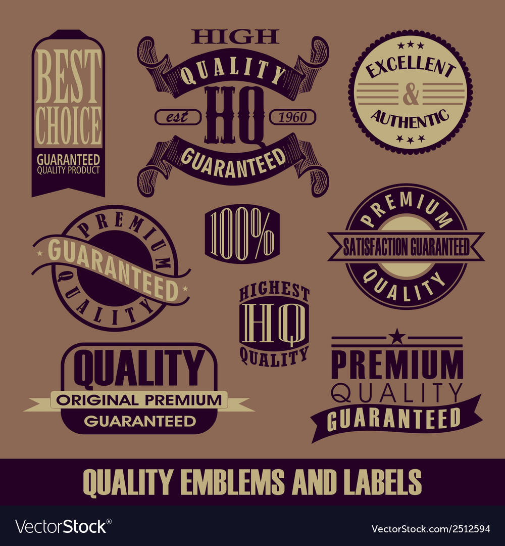 Set of label vector | Price: 1 Credit (USD $1)