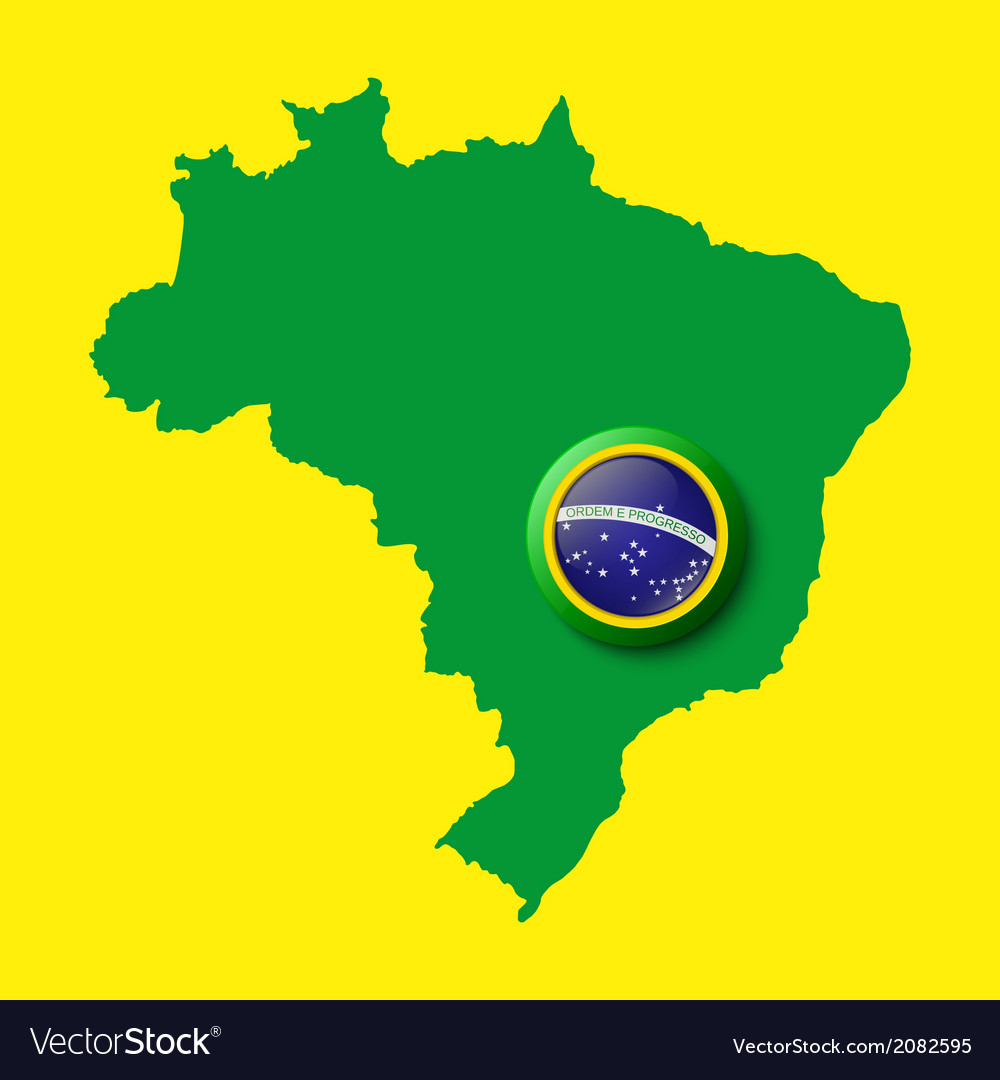 Brazil background for your presentations vector | Price: 1 Credit (USD $1)