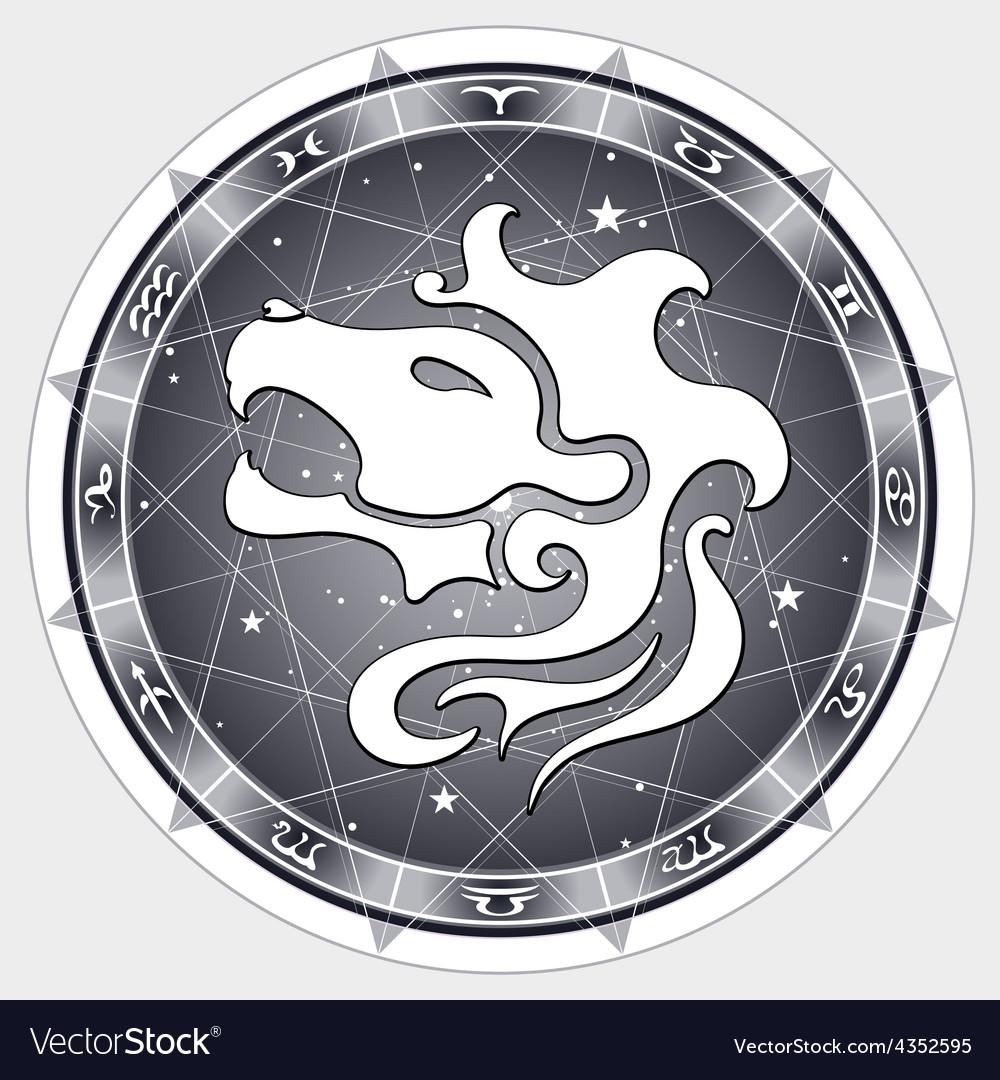 Leo zodiac sign vector | Price: 1 Credit (USD $1)